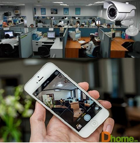 Giải pháp lắp đặt Camera quan sát cho văn phòng, công sở