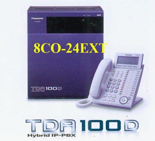 Tổng đài Panasonic KX-TDA100DBP 8CO-24EXT