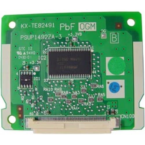 Card trả lời tự động (DISA) KX-TE82491 dùng cho tổng đài KX-TES824, khách hàng nghe lời chào bấm trực tiếp máy lẻ không qua lễ tân.