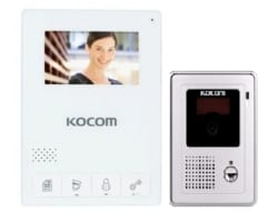 """Màn hình chuông cửa Kocom KCV-434SD olor Hands free VDP (4,3"""" TFT LCD) ,OSD function, Vistor Communication and Door Open Touch Button; Digital phôt Alblu"""