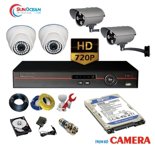 Bộ 1 camera 1MP HDS-5882TVI-IRQ