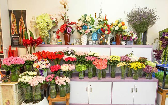 Lắp đặt camera cho cửa hàng hoa, tiệm hoa kiểng
