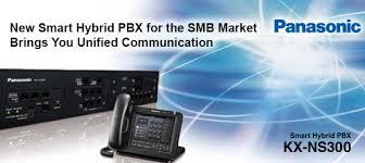 Giải pháp hệ thống điện thoại IP và tổng đài IP Panasonic KX-NS300