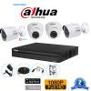 Bộ 4 camera Dahua 1MP HAC-HDW1000MP-S3