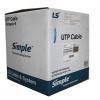 Cáp mạng LS CAT 6 U/UTP-CM