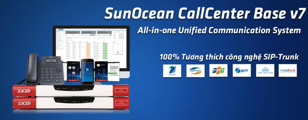 SunOcean Callcenter - Banner